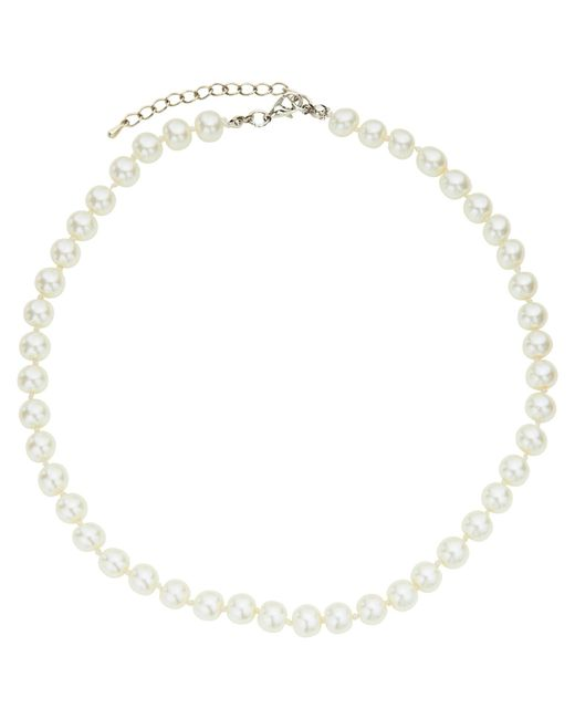 John Lewis | White Short Faux Pearl Necklace | Lyst