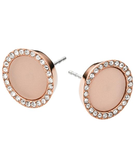 Michael Kors | Pink Stud Earrings | Lyst