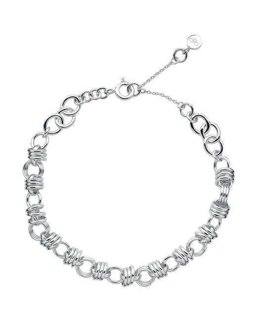 Links of London | Metallic Sweetie Xs Sterling Silver Chain Charm Bracelet | Lyst