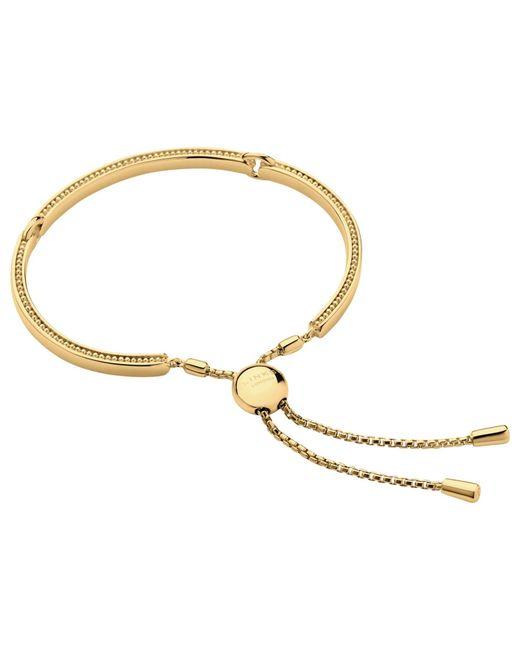 Links of London | Metallic Narrative Yellow Gold Vermeil Bracelet | Lyst