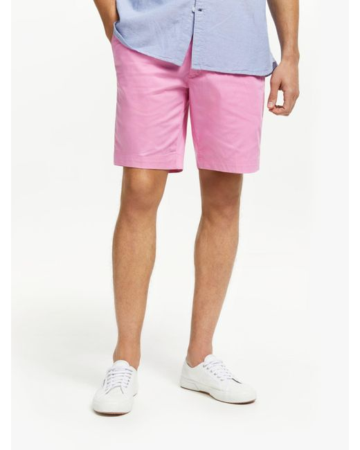 the best attitude ef4fd a428d Ralph Lauren - Pink Polo Golf By Athletic Shorts for Men - Lyst ...