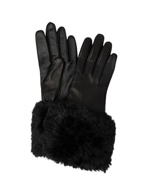 Ted Baker | Black Emree Faux Fur Cuff Glove | Lyst