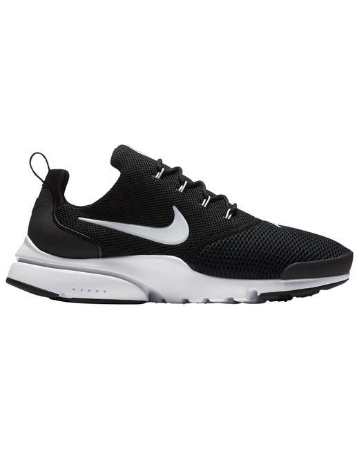 ... Lyst Nike - Black Men s Presto Fly Running Sneakers From Finish Line  for Men ... d4bbdd899