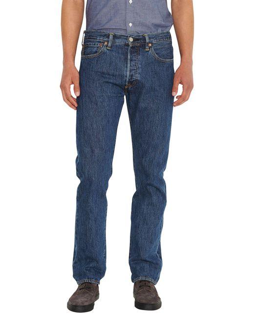 "Levi's Blue 501 Original Fit Jean - 30-36"" Inseam for men"