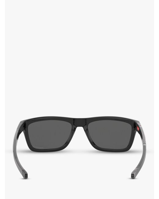 3ea5f08bcd ... Lyst Oakley - Black Oo9334 Men s Holston Prizm Polarised Square  Sunglasses for Men ...