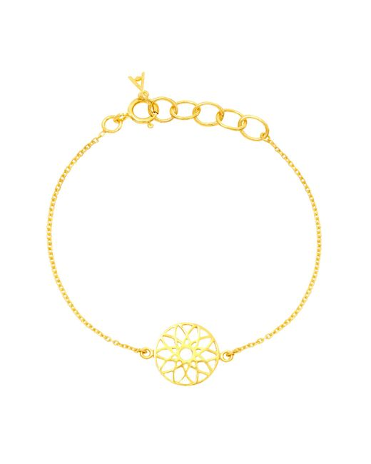 Auren - Metallic Dreamcatcher Bracelet - Lyst