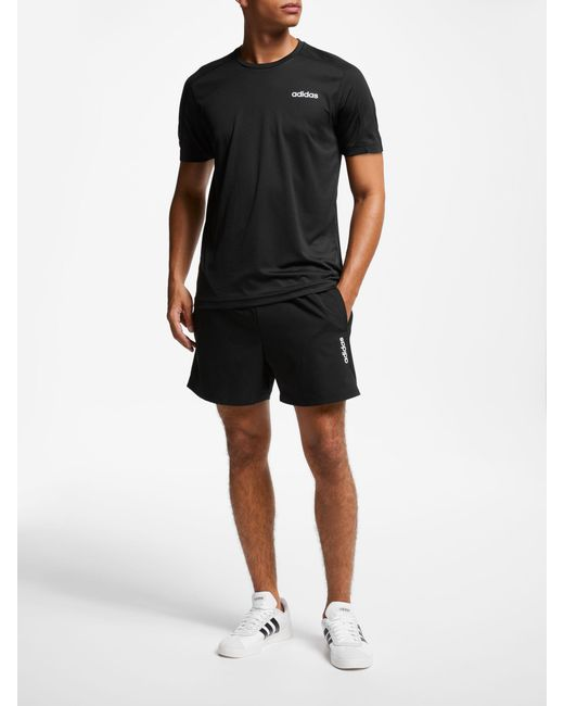 adidas Synthetic Essentials Chelsea Shorts in Black for Men