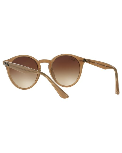 3c15e4d921 Ray-ban Rb2180 Round Sunglasses in Brown