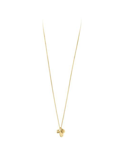 Dyrberg/Kern - Metallic Dyrberg/kern Fundrina Brass Necklace - Lyst