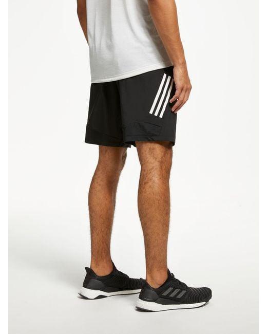 95f92d447e Men's Black 4krft Tech Woven 3-stripes Training Shorts