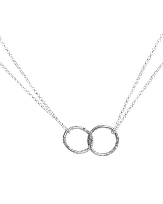 Matthew Calvin | Metallic Double Meteorite Ring Pendant Necklace | Lyst