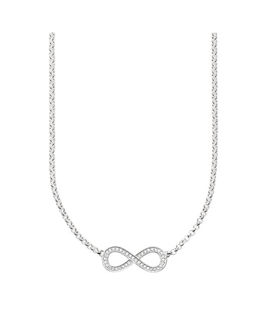 Thomas Sabo - Metallic Glam & Soul Infinity Pave Necklace - Lyst
