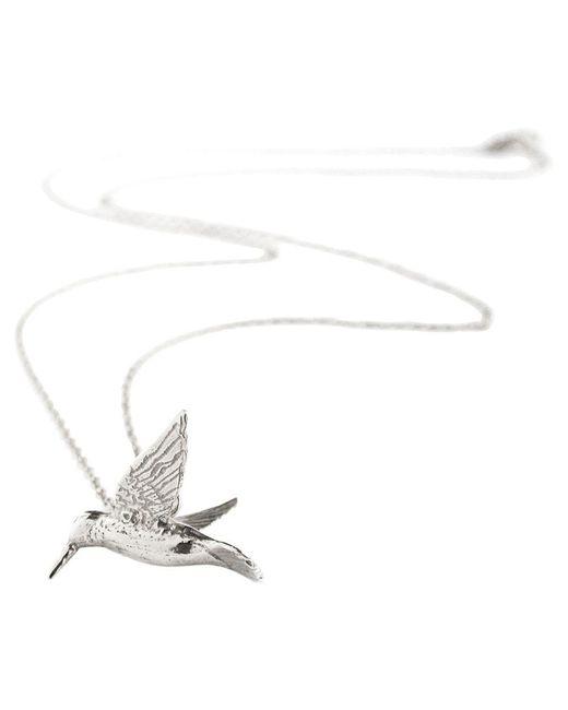 Alex Monroe - Metallic Hummingbird Pendant Necklace - Lyst