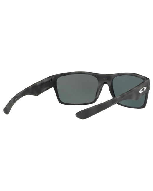 c1435748179 ... Oakley - Black Oo9189 Two Face Polarised Square Sunglasses for Men -  Lyst ...
