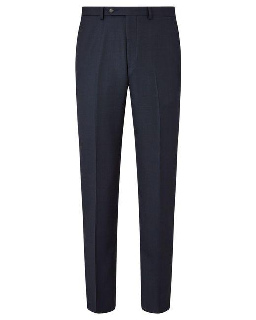 John Lewis - Blue Regular Fit Birdseye Suit Trousers for Men - Lyst