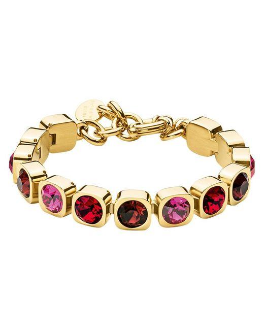 Dyrberg/Kern | Multicolor Dyrberg/kern Swarovski Crystals Tennis Bracelet | Lyst