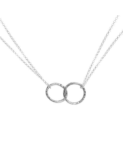 Matthew Calvin - Metallic Double Meteorite Ring Pendant Necklace - Lyst