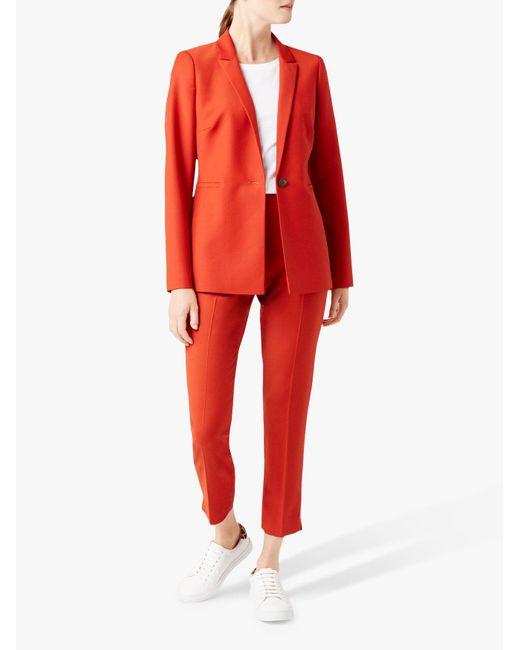 Hobbs Orange 'nadia' Jacket