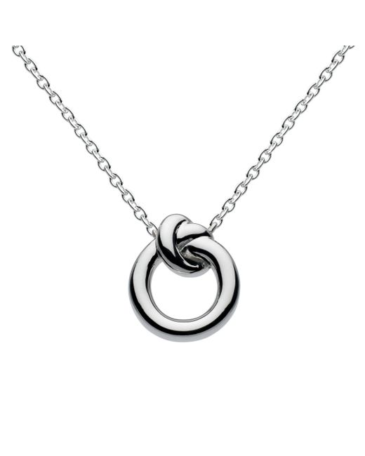 Kit Heath - Metallic Sterling Silver Knot Necklace - Lyst