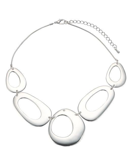 John Lewis | Metallic Cutout Circles Necklace | Lyst