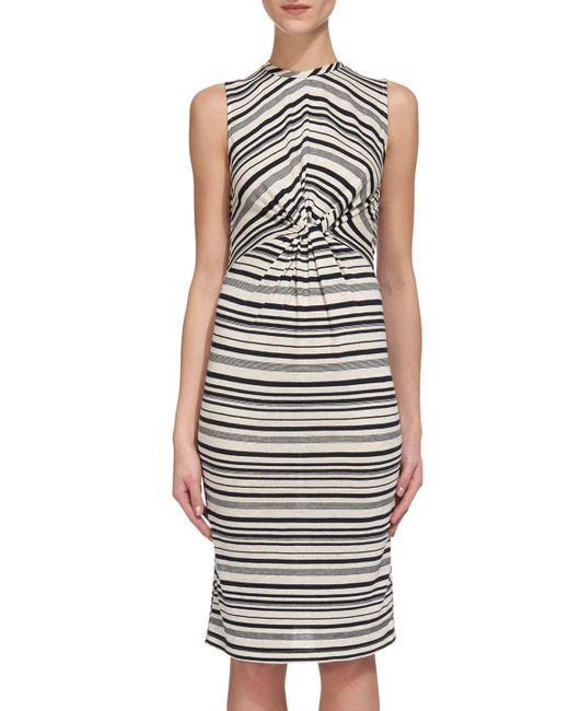 Whistles - Multicolor Carrie Stripe Jersey Dress - Lyst