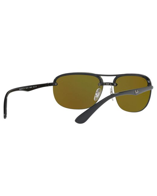 5d9ece6af47 ... Ray-Ban - Multicolor Rb4275ch Chromance Polarised Square Sunglasses for  Men - Lyst ...