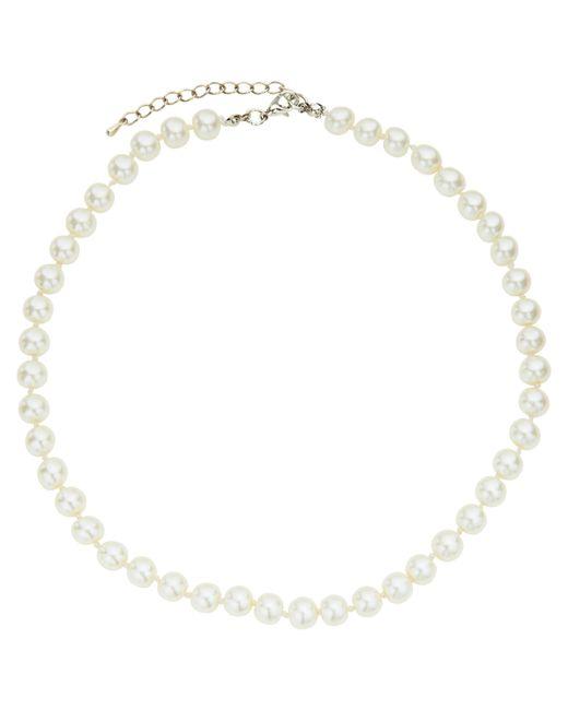 John Lewis - White Short Faux Pearl Necklace - Lyst