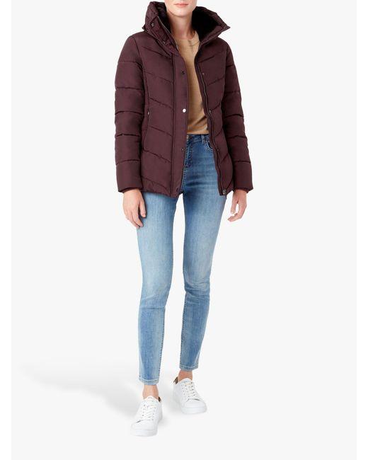 Hobbs Multicolor Leonie Puffer Coat
