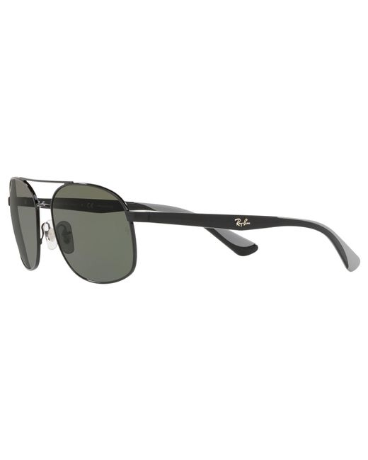 5288982042e ... Ray-Ban - Gray Rb3593 Unisex Polarised Oval Sunglasses for Men - Lyst  ...