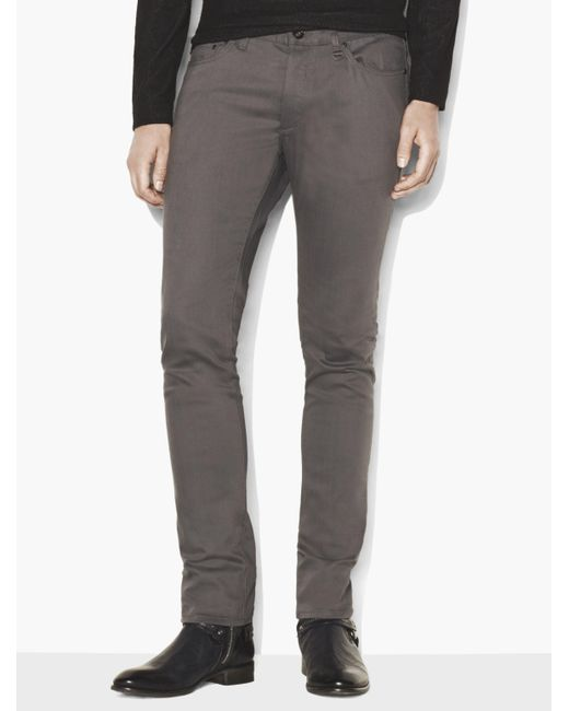John Varvatos Gray Chelsea Jean for men