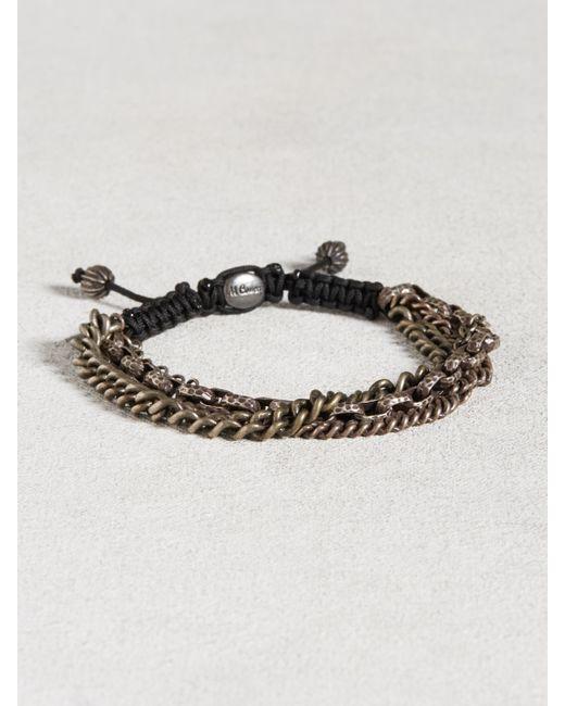 John Varvatos   Metallic Multi-chain Sterling Silver Bracelet for Men   Lyst