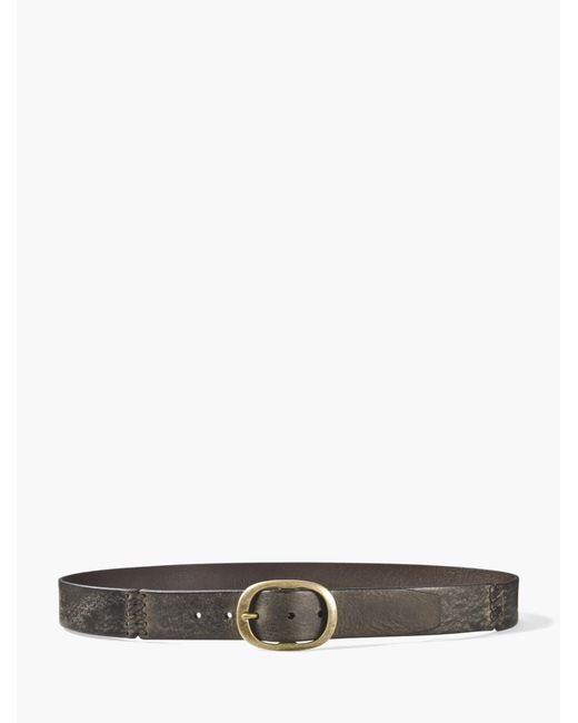 John Varvatos | Multicolor Burnished Leather Belt for Men | Lyst