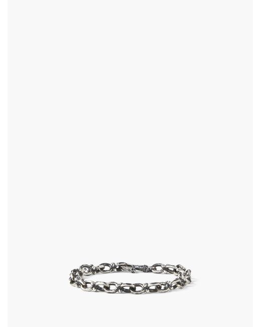 John Varvatos - Metallic Silver Chain Bracelet for Men - Lyst