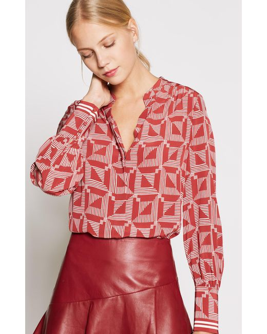 Joie - Red Mintee D Top - Lyst