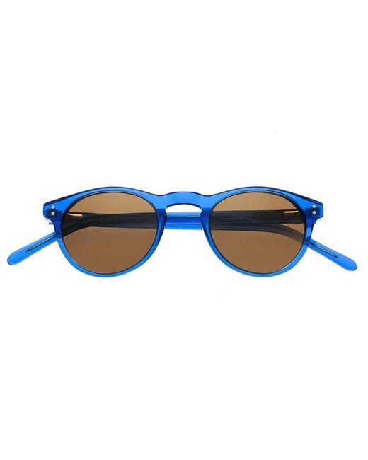 Simplify Blue Russell Acetate Sunglasses