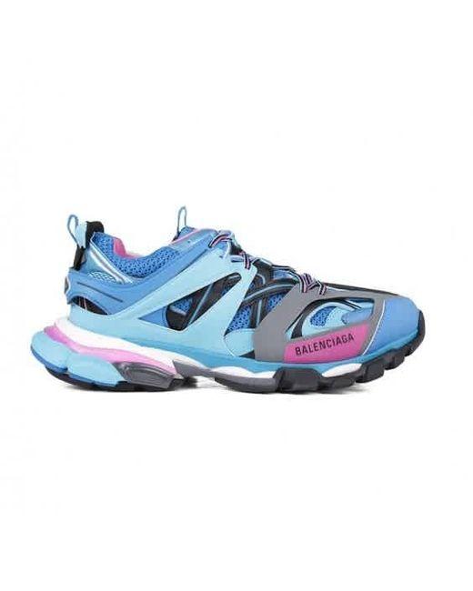 Balenciaga Blue Track Sneakers for men