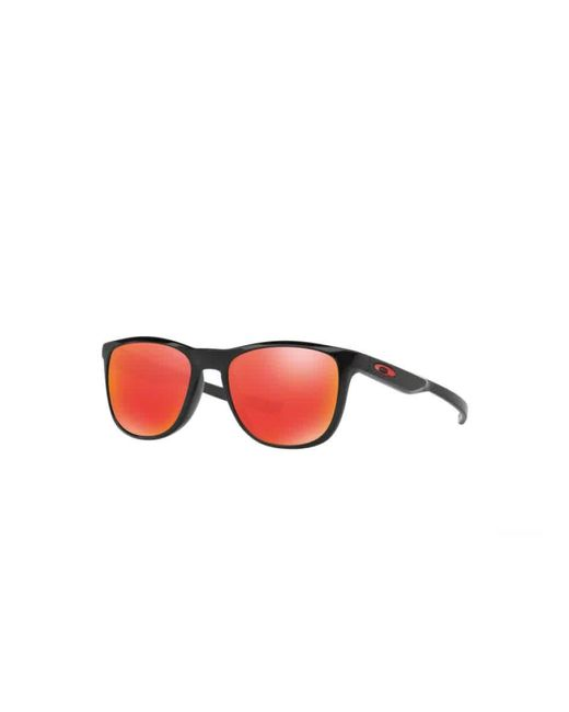 Oakley Red Ruby Iridium Round Mens Sunglasses -934002-52 for men