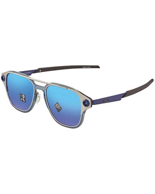 Oakley Blue Coldfuse Prizm Sapphire Aviator Sunglasses -52 for men