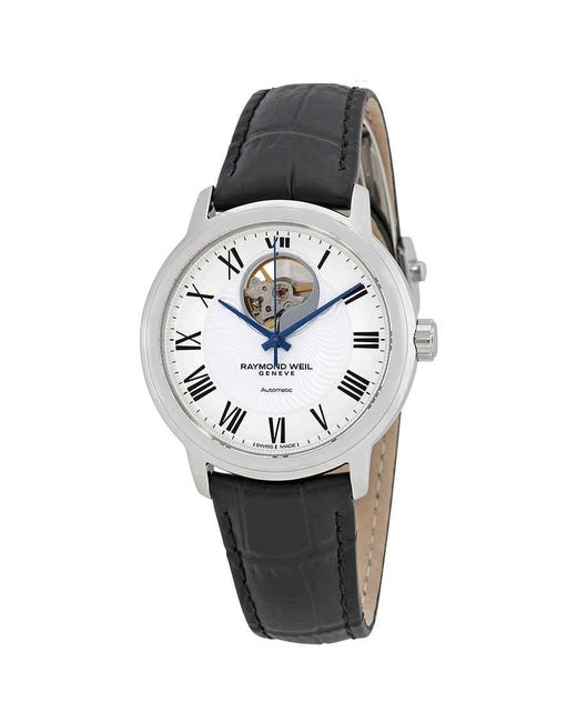 Raymond Weil Metallic Maestro Automatic Silver Dial Mens Watch -stc-00659 for men