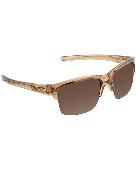 Oakley Brown Thinlink Dark Broze Sunglasses Mens Sunglasses -931602-63 for men