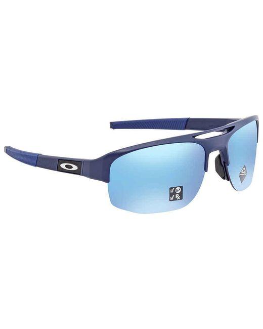 Oakley Blue Mercenary Prizm Sapphire Polarized Sunglasses Mens Sunglasses  942406 70 for men