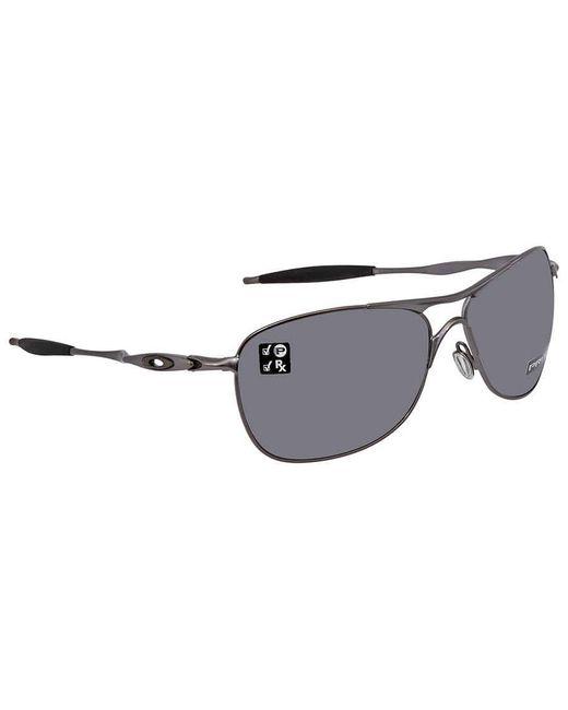 Oakley Crosshair Prizm Black Polarized Sunglasses Mens Sunglasses  406022 61 for men