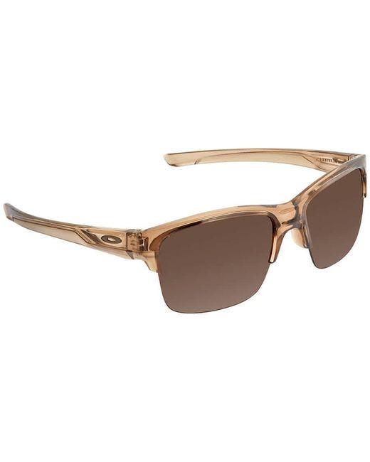 Oakley Brown Thinlink Dark Broze Sunglasses Mens Sunglasses -931602-63 for men