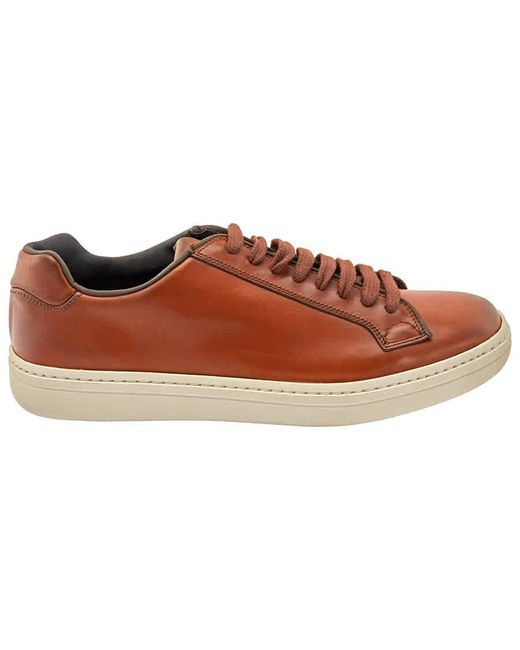 Church's Brown Classic Laceup Sneaker, Brand for men