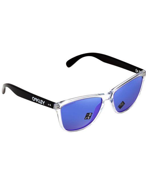 Oakley Violet Prizm Square Mens Sunglasses 944405 57 in ...