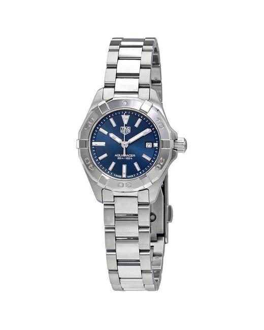 Tag Heuer Aquaracer Blue Dial Ladies Watch