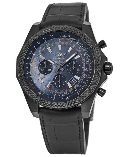 Breitling Pre-owned Bentley B06 Chronograph Automatic Chronometer Black Dial Mens Watch for men