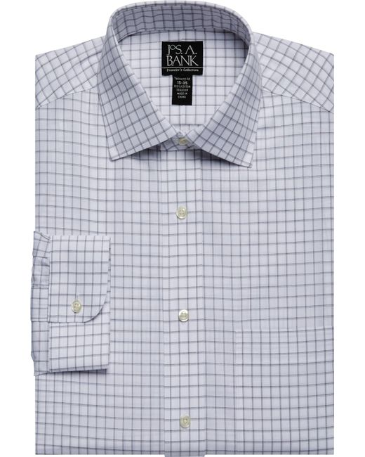 Jos a bank traveller collection traditioanl fit spread for Joseph banks dress shirts