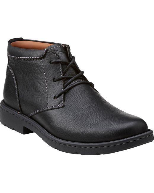Jos. A. Bank | Black Clarks Stratton Limit Plain Toe Boot for Men | Lyst