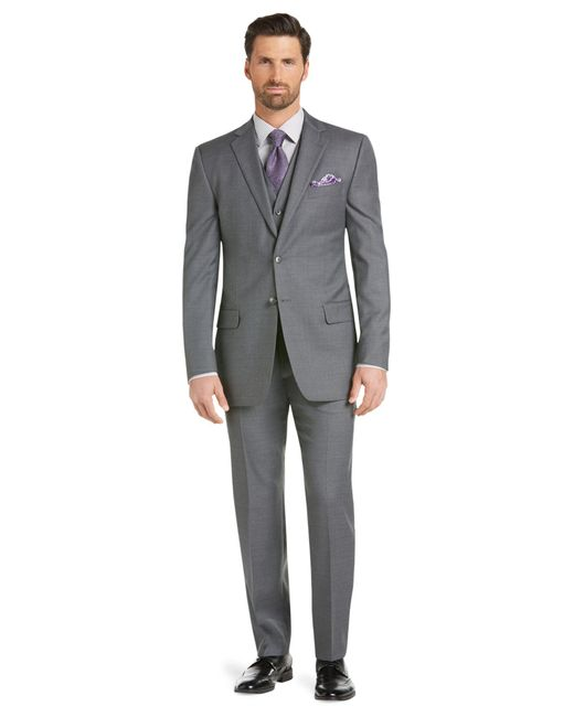 Jos a bank executive 2 button wool silk sportcoat big for Jos a bank tailored fit vs slim fit shirts